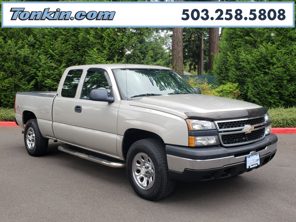 Pre-Owned 2007 Chevrolet Silverado 1500 Classic Work Truck