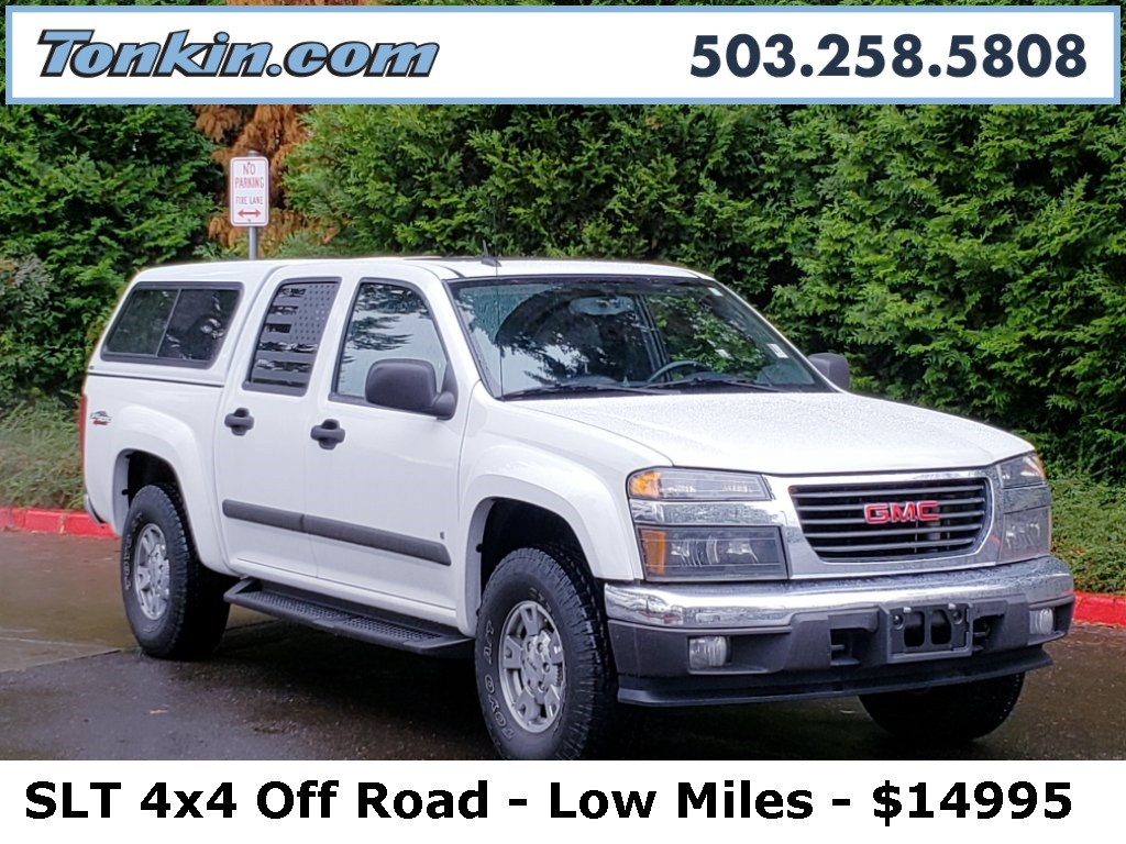 Pre-Owned 2008 GMC Canyon SLT